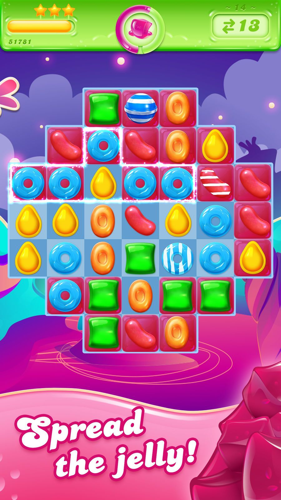 Candy Crush Jelly Saga PuzzleGamesiosArcade Candy