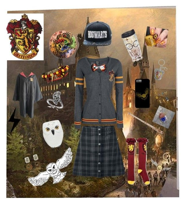 """""""Harry Potter craz"""" by kbyrn ❤ liked on Polyvore featuring Tressa, Tervis and Warner Bros."""