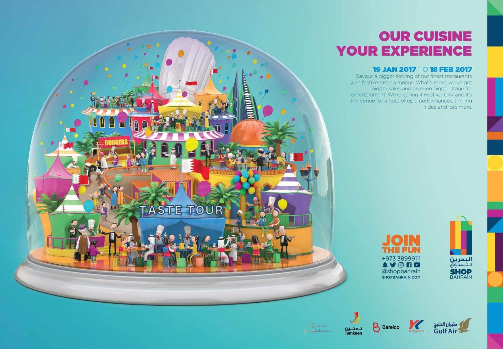 Bahrain Shopping Festival: Taste tour