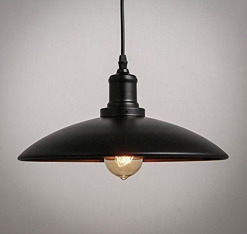 E27 Metal Retro Suspensions Luminaires Vintage Plafonnier