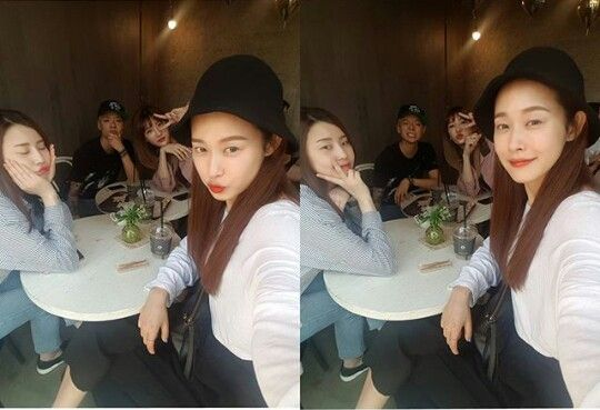 170517 @jjuhee.eee(an SM dancer) Instagram Update with Amber #amber #amberliu #엠버 #yiyun #liuyiyun #일운 #류일운 #fx #에프엑스 #meus #meu #미유 #smdancers