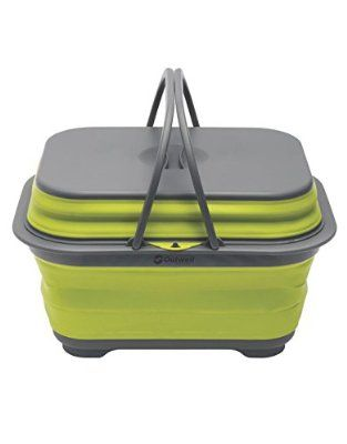 Outwell Collaps Washing Base Simple Storage Camping Camp Kitchen