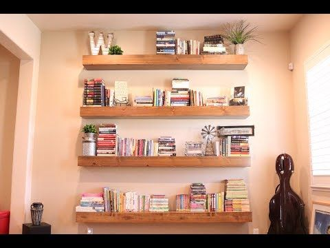 (15266) The Only DIY Floating Shelf Video Youu0027ll Ever Need!