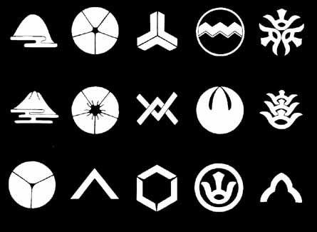 山紋 on 家紋World   家紋. デザイン. 日本のデザイン