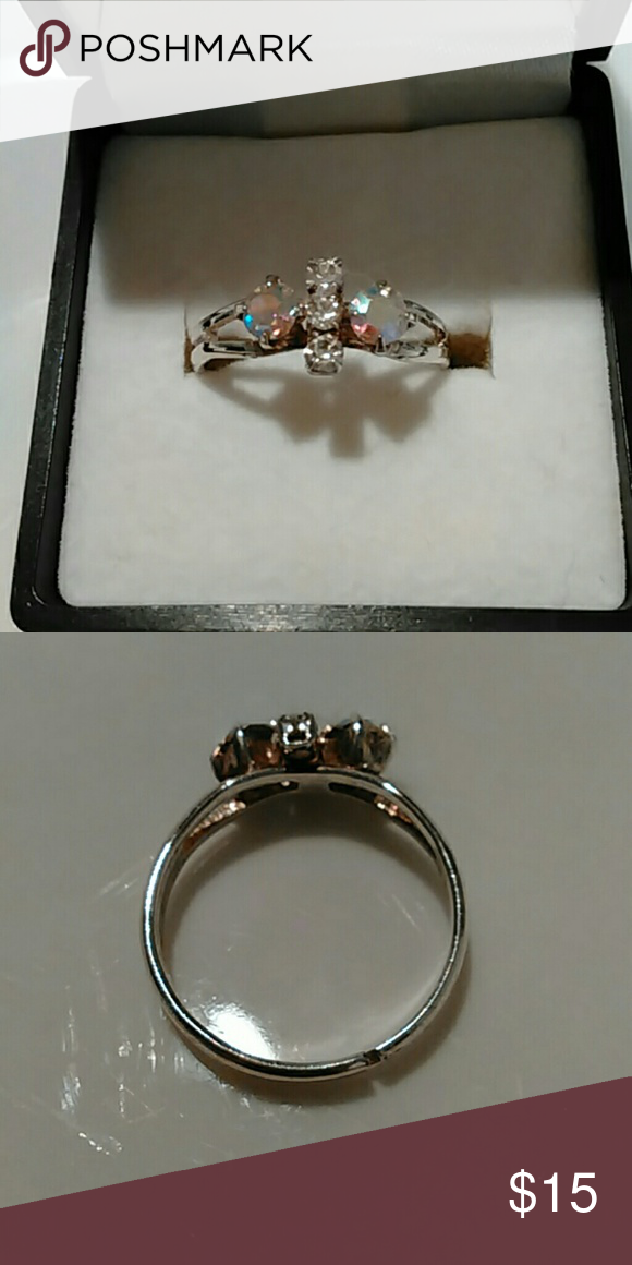 Stainless Steel Cubic Zirconia Ring Stainless steel cubic zirconia ring. New without tags. Comes with gift box. Jewelry Rings