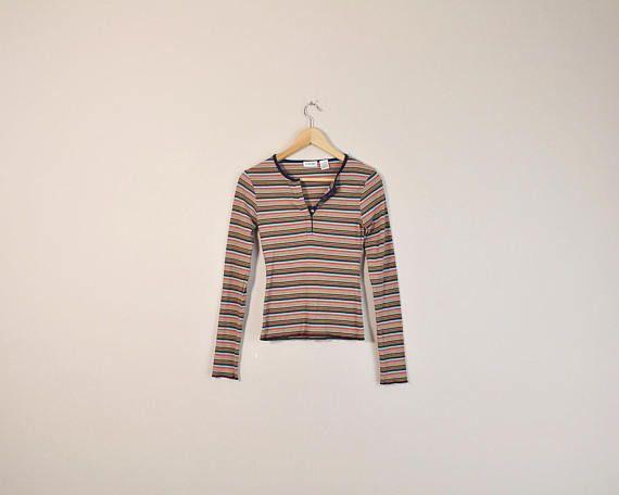 03e7c4266ea0a0 90s Striped Shirt