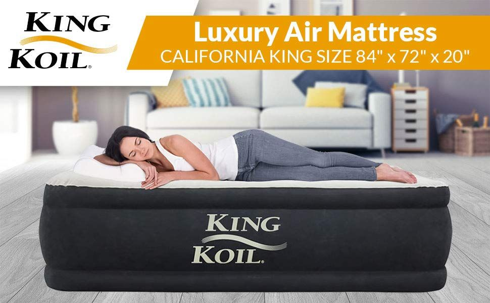 Amazon.com: King Koil QUEEN SIZE Luxury Raised Air ...