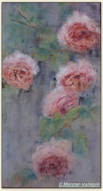 Roses 1 - pastel -