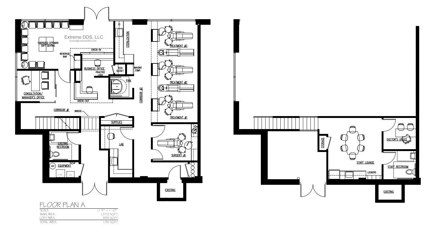 Cosmetic And Specialty Floor Plans Hospital Floor Plan Floor Plans How To Plan