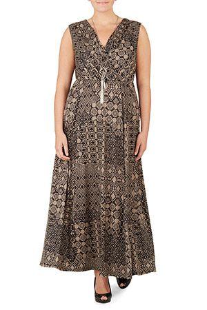 2fb7b573c4 Ladies Black Maxi Dress Bonmarché | outfits for wedding | Dresses ...