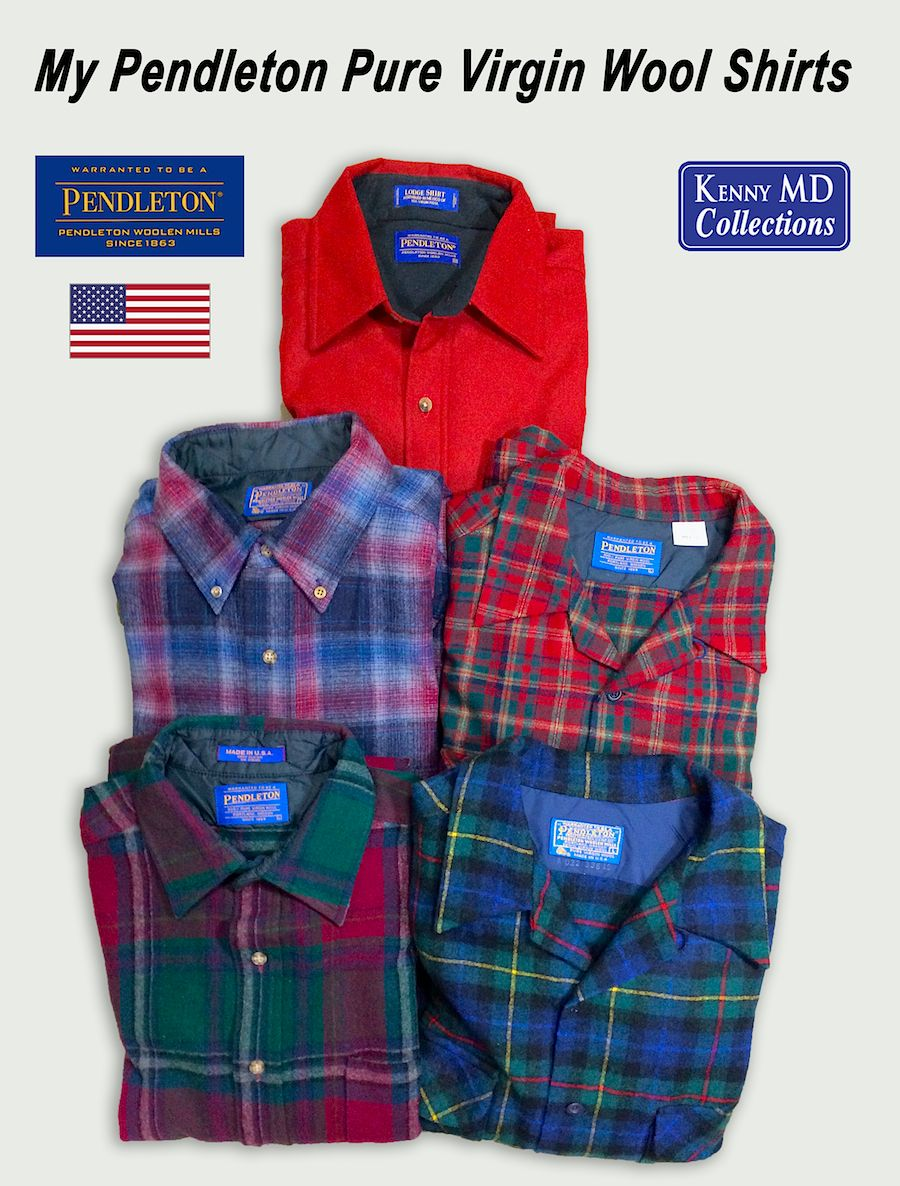 My Pendleton Pure Virgin Wool Shirts