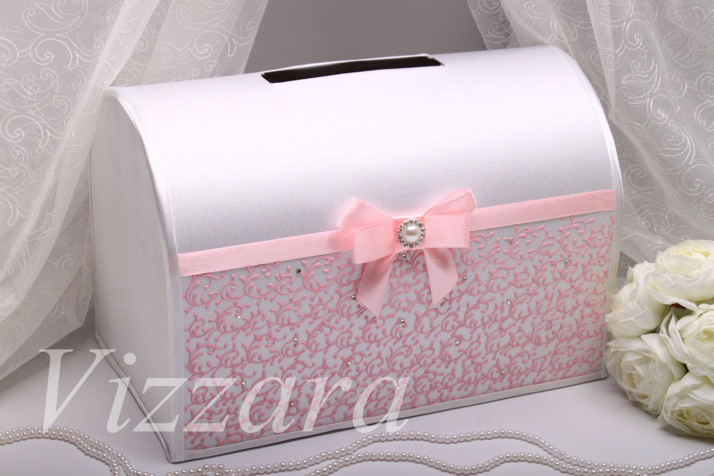 Card box for wedding pink weddings wedding card box pink