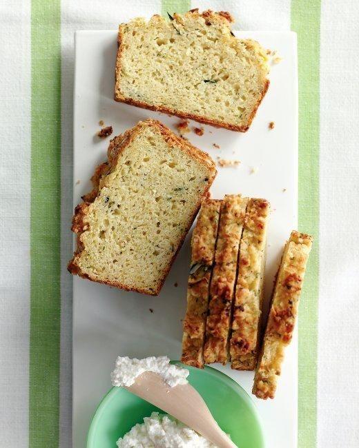 Zucchini-Parmesan Loaf Recipe