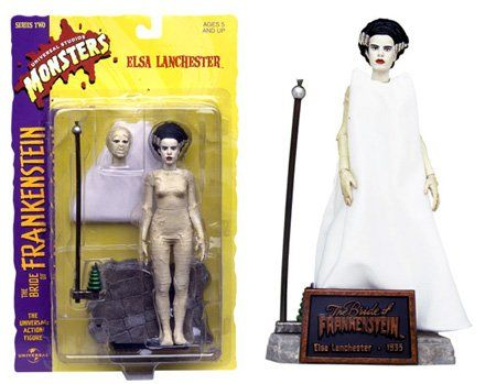 """8"""" Universal Monsters The Bride of Frankenstein Action Figure Universal Monsters http://www.amazon.com/dp/B00002DHH4/ref=cm_sw_r_pi_dp_89Oqvb0YC5WXY"""