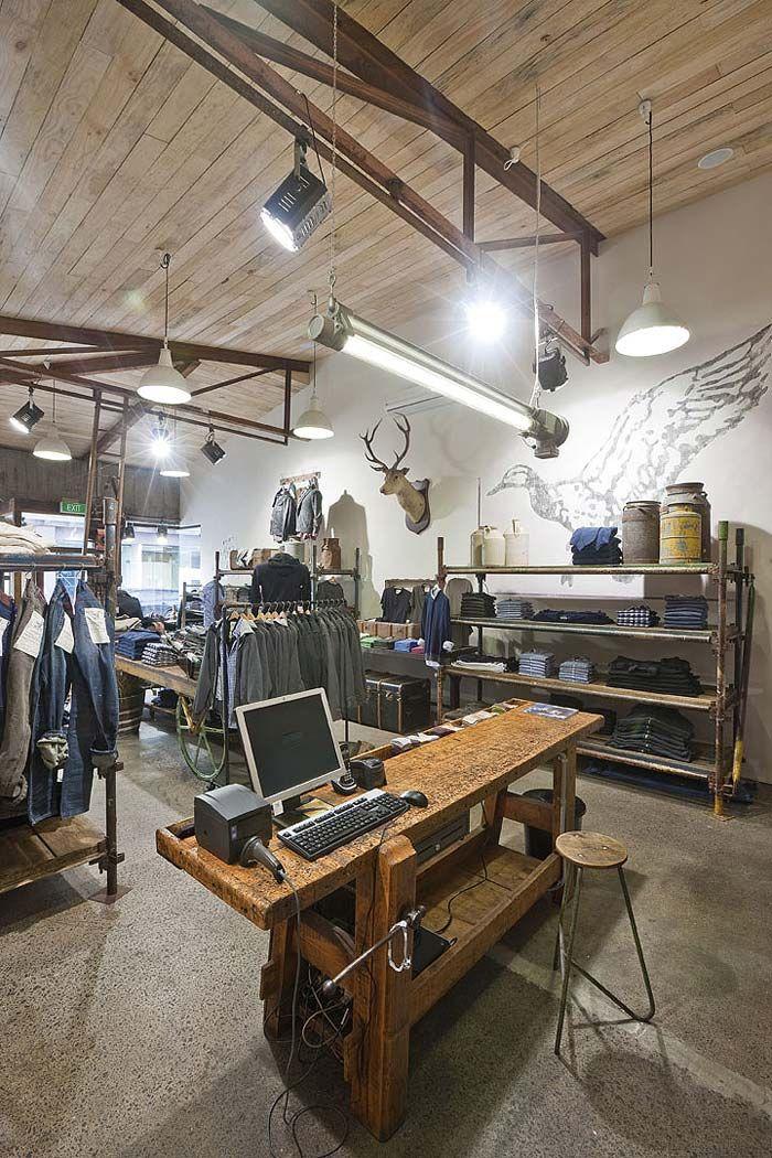 Dise o interior comercios dise o comercial interiores for Decoracion de interiores locales de ropa