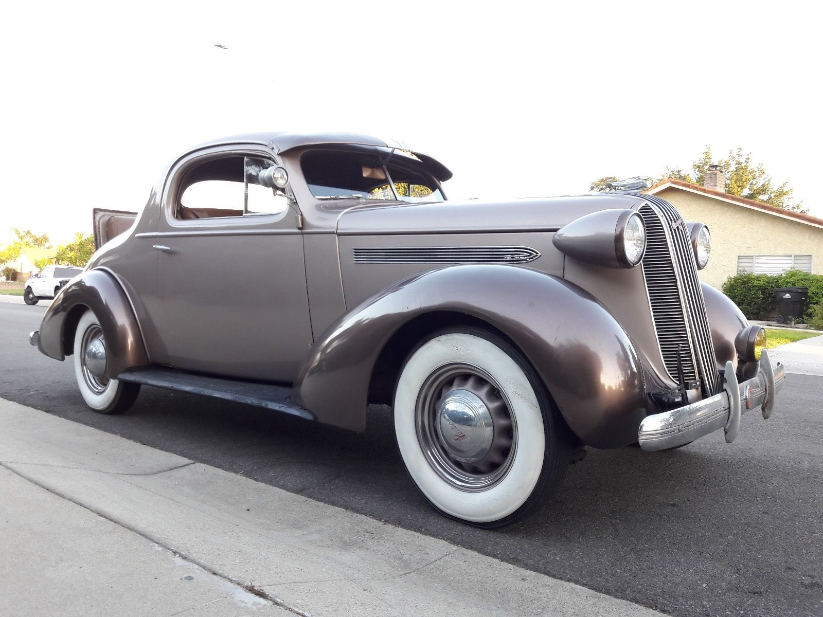 1936 Pontiac 3 coupe w/rumble seat | Cool 1930\'s cars | Pinterest | Cars