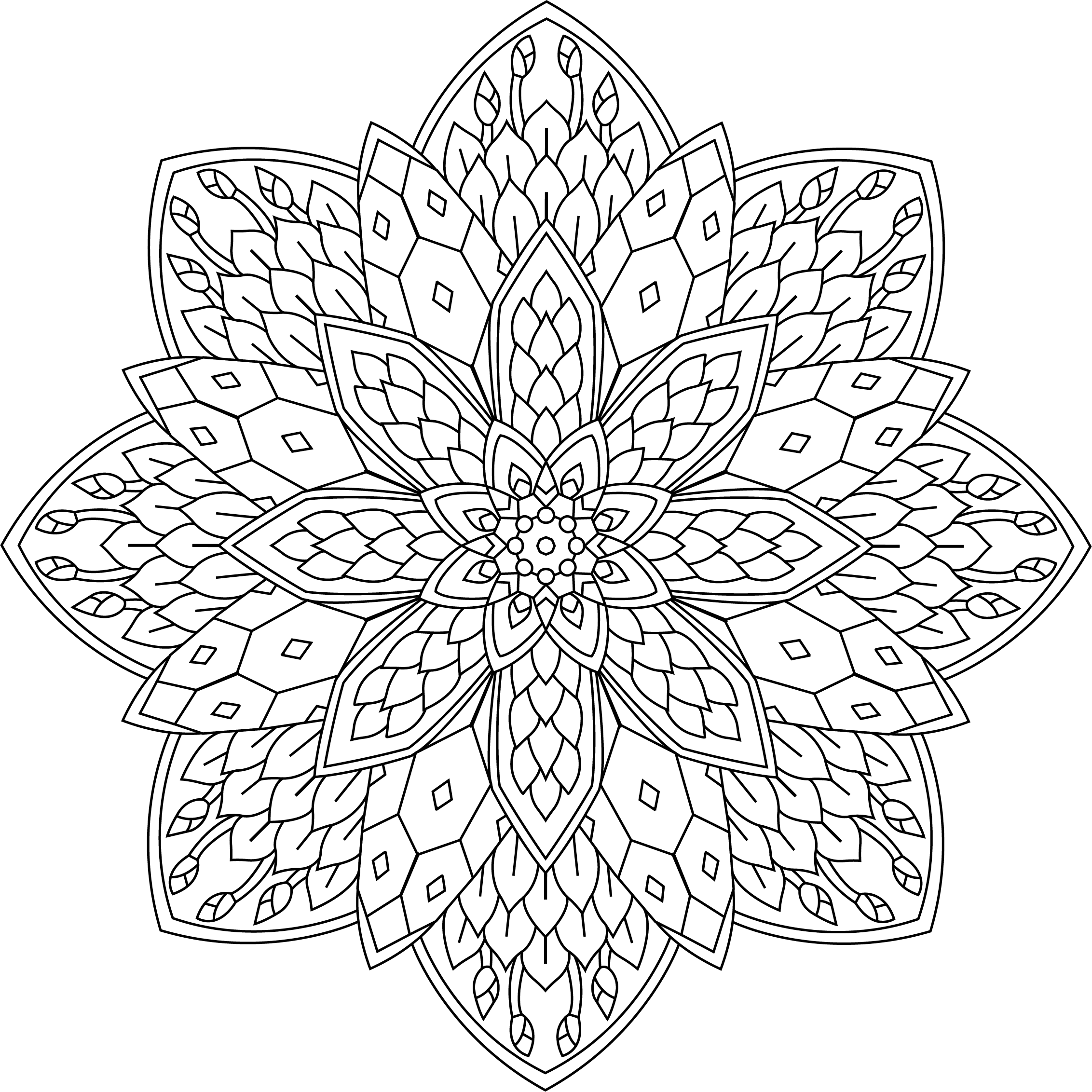 pin by drawissimo how to draw on mandala coloring