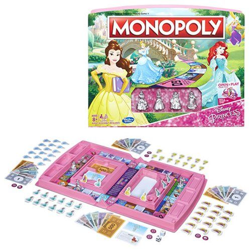 Disney Princess Edition Monopoly Game Entertainment Earth Monopoly Game Disney Princess Toddler Dolls Disney Princess Games