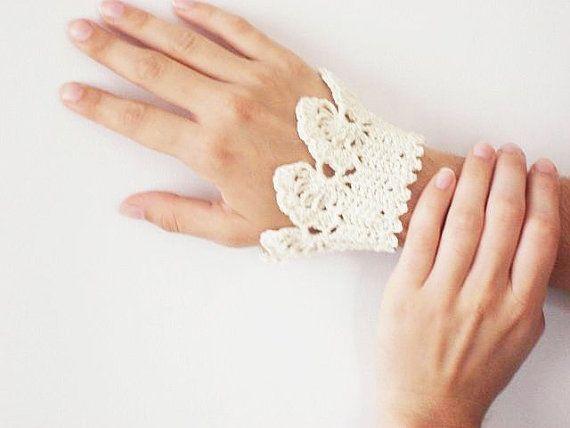 Summer Bracelet  Handmade Jewelery  Crochet by karmasaccessories