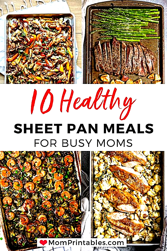 - Healthy Sheet Pan Dinners To Try. Ive compiled 11 healthy sheet pan dinners to try that will make weeknight meals so easy! Kid-approved, no mess, no fuss recipes for the entire family. #sheetpan #sheetpanmeal #familymeal #mealprep #weeknightmeal #foodaddiction #foodgoals #tasty #foodielife #yum #foodpics #foodadventure #foodpornography #dinner #homemade #foodbloger #foodsforfoodie #pizza #foodilysm #foodvsco