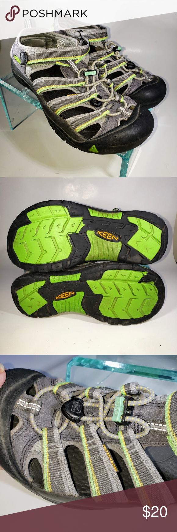 Keen Toddler Boy Navy Newport H2 Sandal US 9 10 NWOB