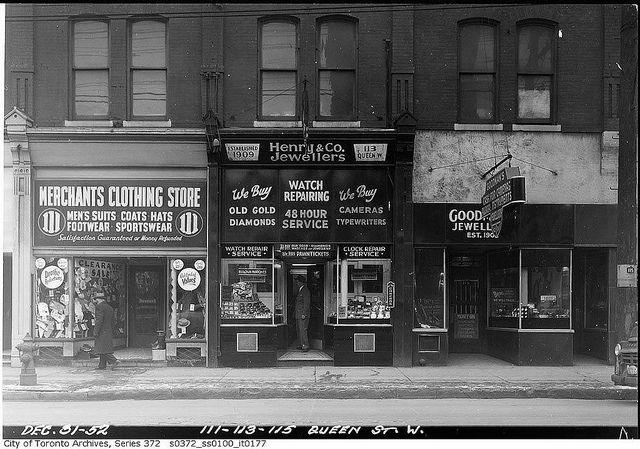 111 113 115 Queen Street West Toronto Queen Street West Old Toronto