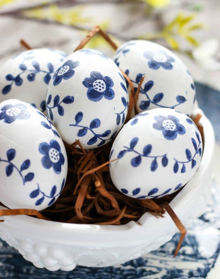 9 Simply Gorgeous Easter Egg Decorating Ideas Easter Decorations