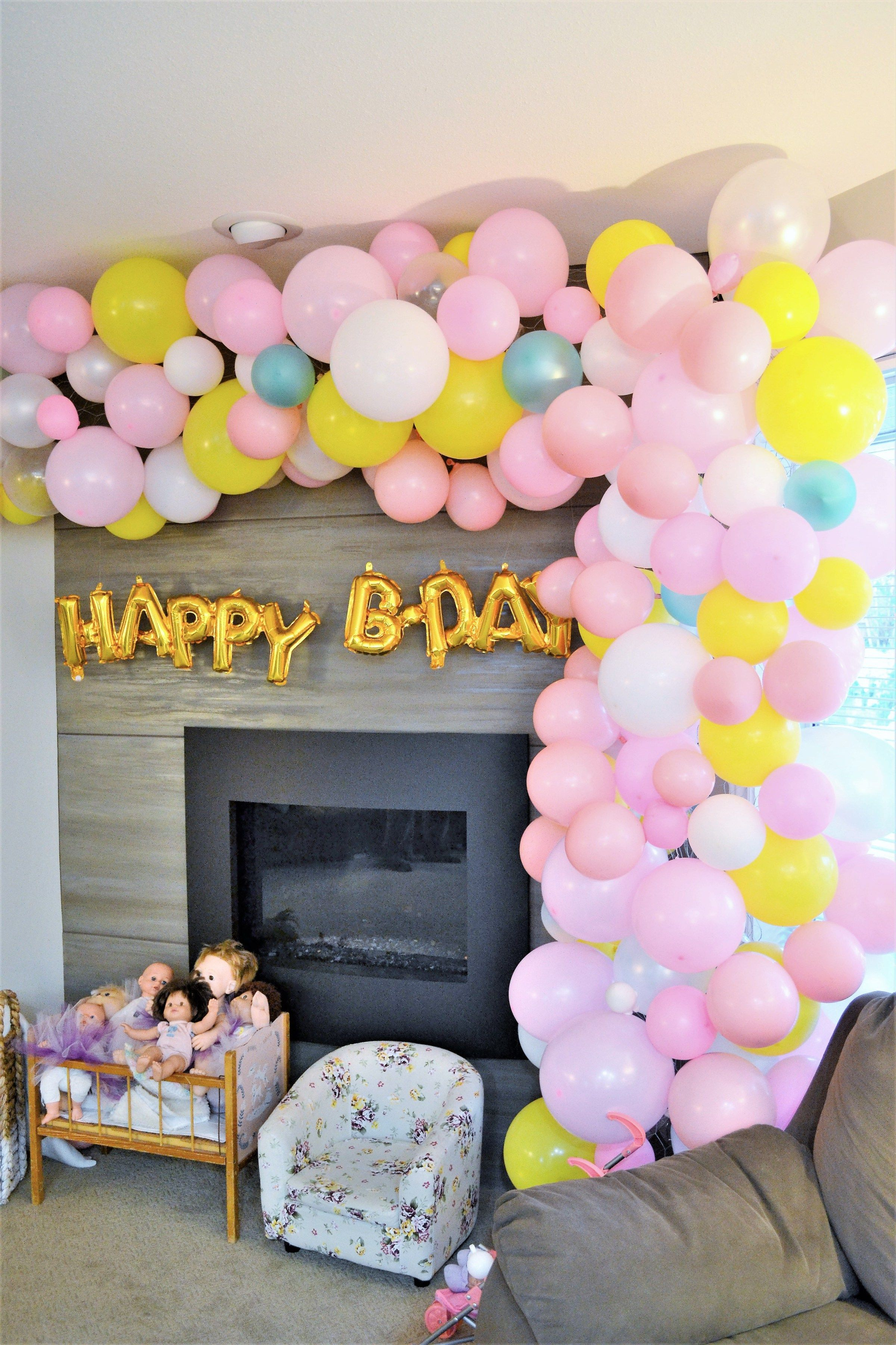 Balloon arch tutorial set up and take down making