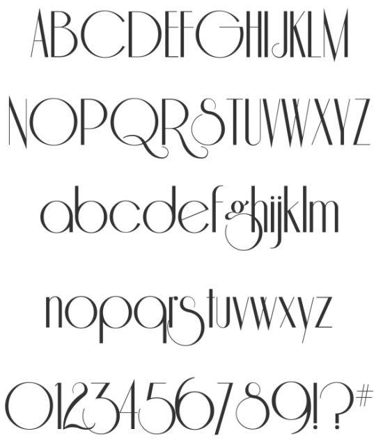 Vintage fonts free and retro vandelay