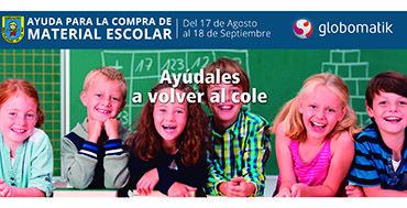 """Globomatik apoya la campaña solidaria """"Ayúdales a volver al cole"""" http://www.mayoristasinformatica.es/blog/globomatik-apoya-la-campana-solidaria-""""ayudales-a-volver-al-cole""""/n2866/"""