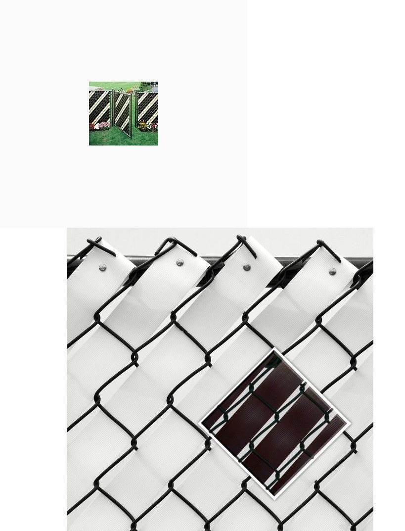 Privacy screen for chain link fence ebay - Chain Link Fencing 180984 Fence Privacy Screen Backyards Gates Driveways Cover Shade Swimming Pool Patio