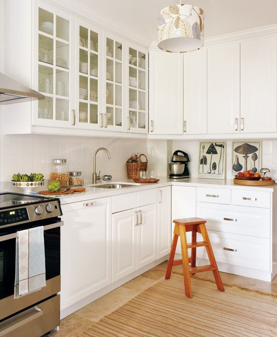 Traditionally Styled Kitchens Have Always Included White From The Magnificent Basic Kitchen Cabinets Inspiration