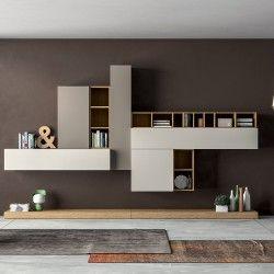 Meuble composable de séjour SLIM | Pinterest | Cucine e Mobili