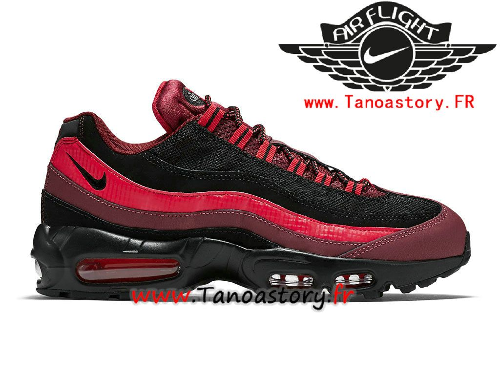 chaussure homme rouge nike