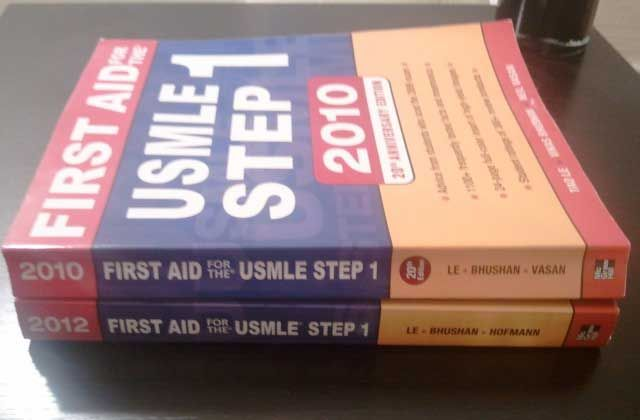 Previous Owner of First Aid for the USMLE Step 1 Book