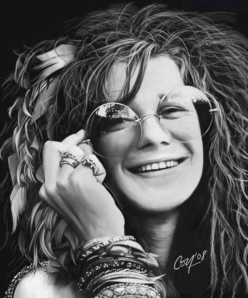 JANIS JOPLIN - LEAD SINGER OF BIG BROTHER & THE HOLDING COMPANY. APPEARED AT THE MONTEREY POP FESTIVAL IN 1967. JANIS WENT SOLO IN 1968 BEFORE HER UNTIMELY DEATH. DATE SEEN: 3/22/69 WINTERLAND/SAN FRANCISCO/CA.