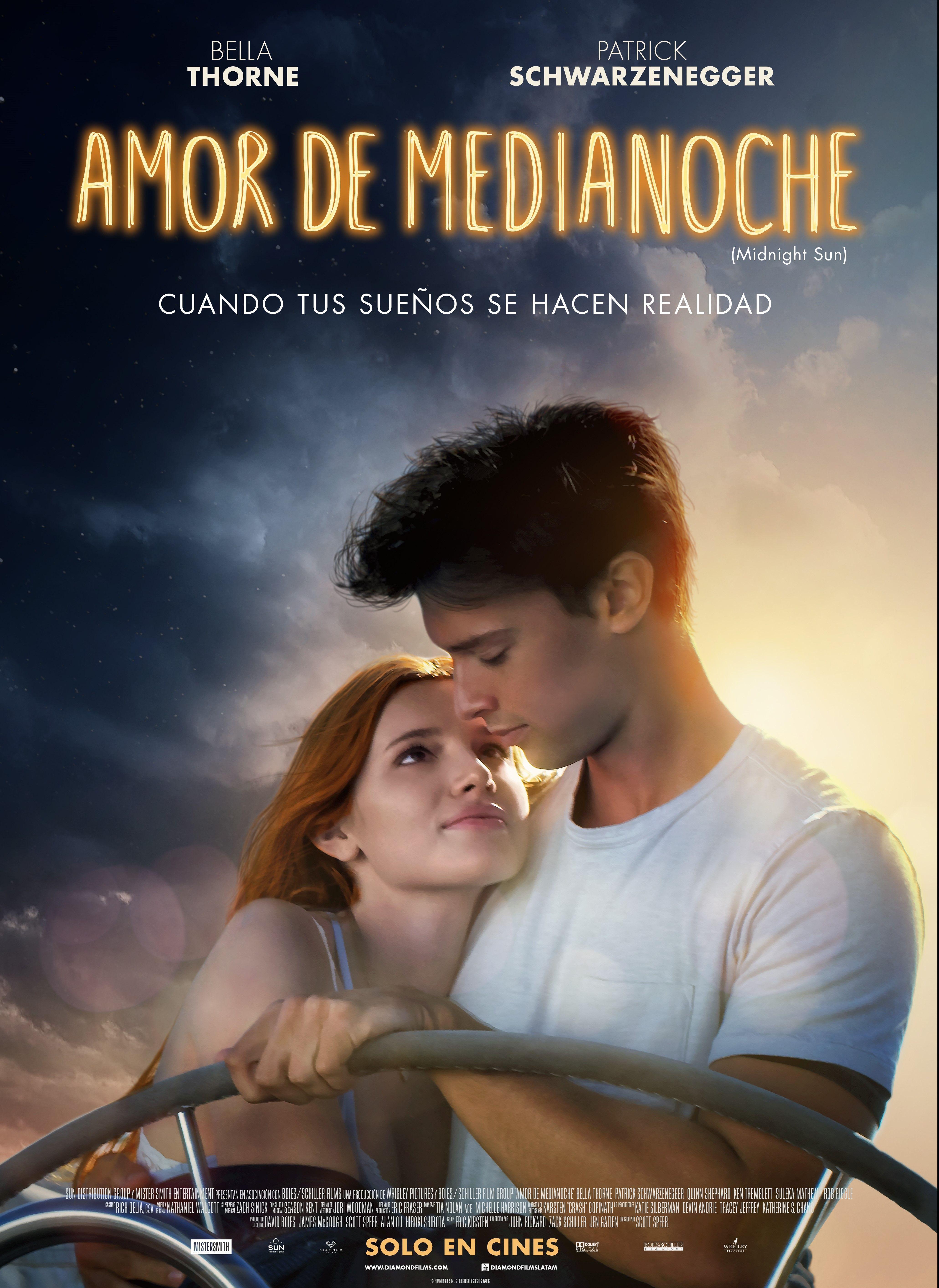 5 Razones Para Ver Amor De Medianoche Con Bella Thorne Y Patrick Patrick Schwarzenegger Favorite Movies Bella Thorne