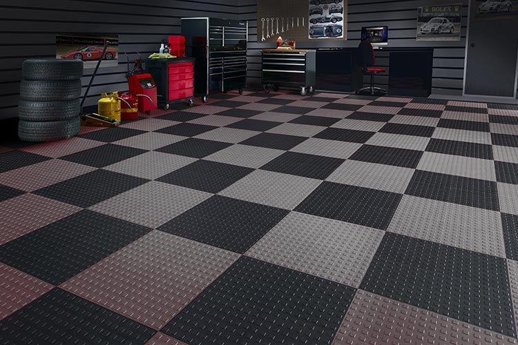 Tech Up Your Floors Garage Floor Tiles Garage Floor Garage
