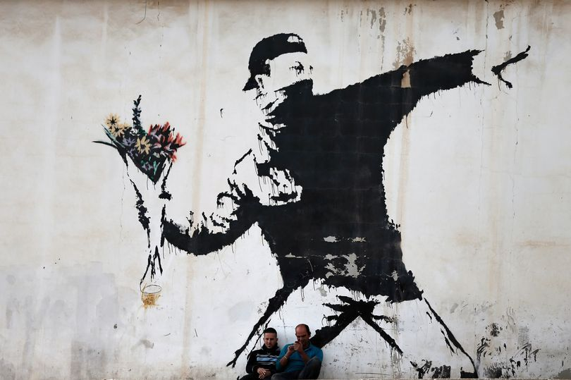 Banksy Timeline The Rise Of The World S Most Famous Graffiti Artist Bristol Post Banksy Artwork Banksy Art Banksy Graffiti