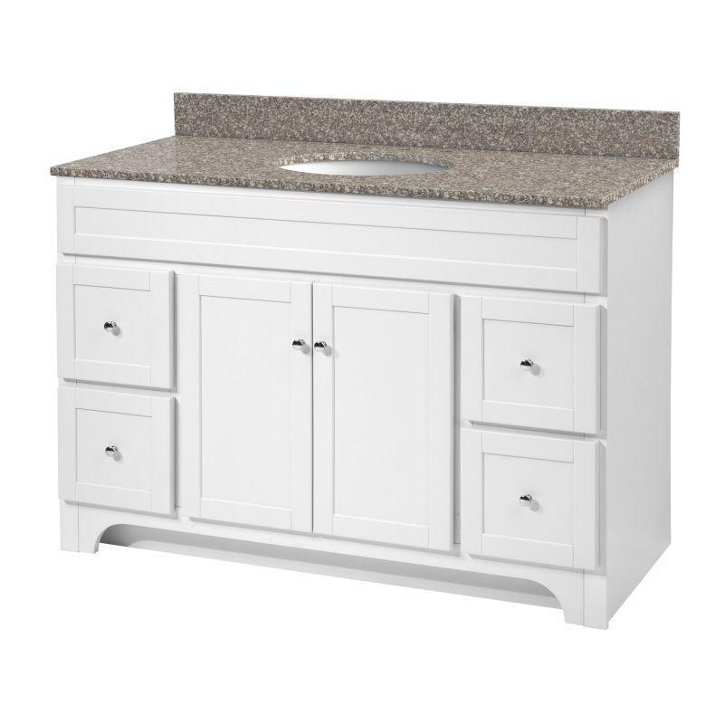 Foremost Wra4821d Worthington 48 Vanity Cabinet Only White Fixture Rh Pinterest Com