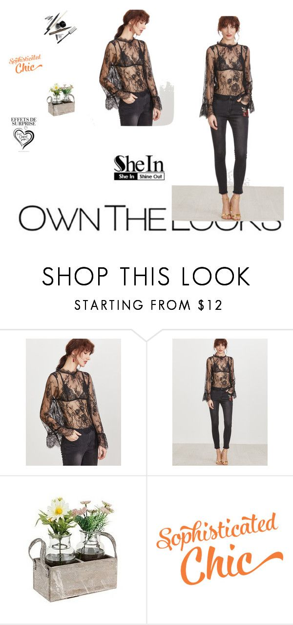 """""""Shein"""" by isak123-1 ❤ liked on Polyvore featuring ULTA"""