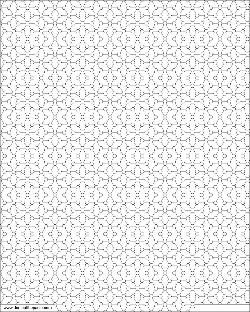 Print and color this geometric tiled pattern with your own design ...