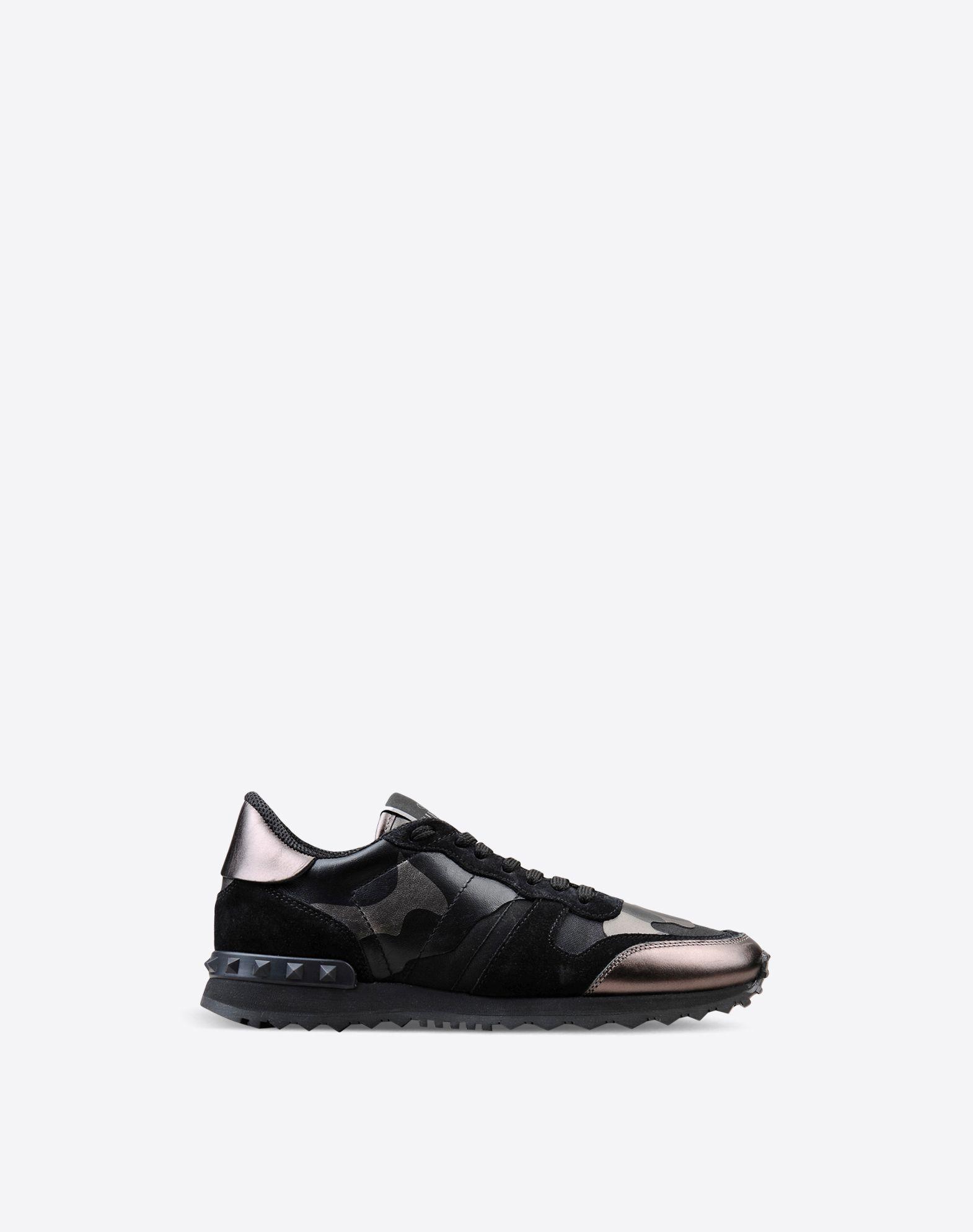 Boutique en ligne Valentino - Sneakers Rockrunner Camouflage Femme Valentino