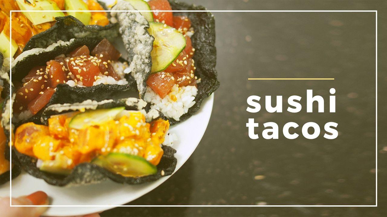 RECIPE | Making Sushi Tacos - YouTube | Food Truck Ideas ...