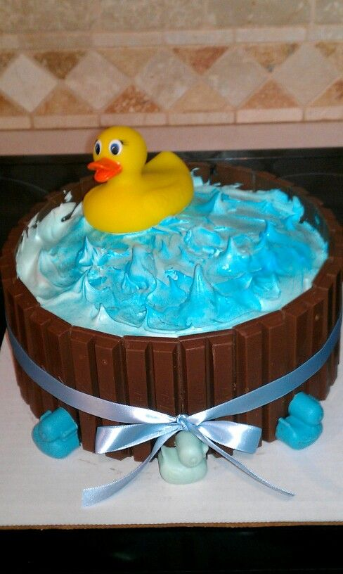 My first duck cake.