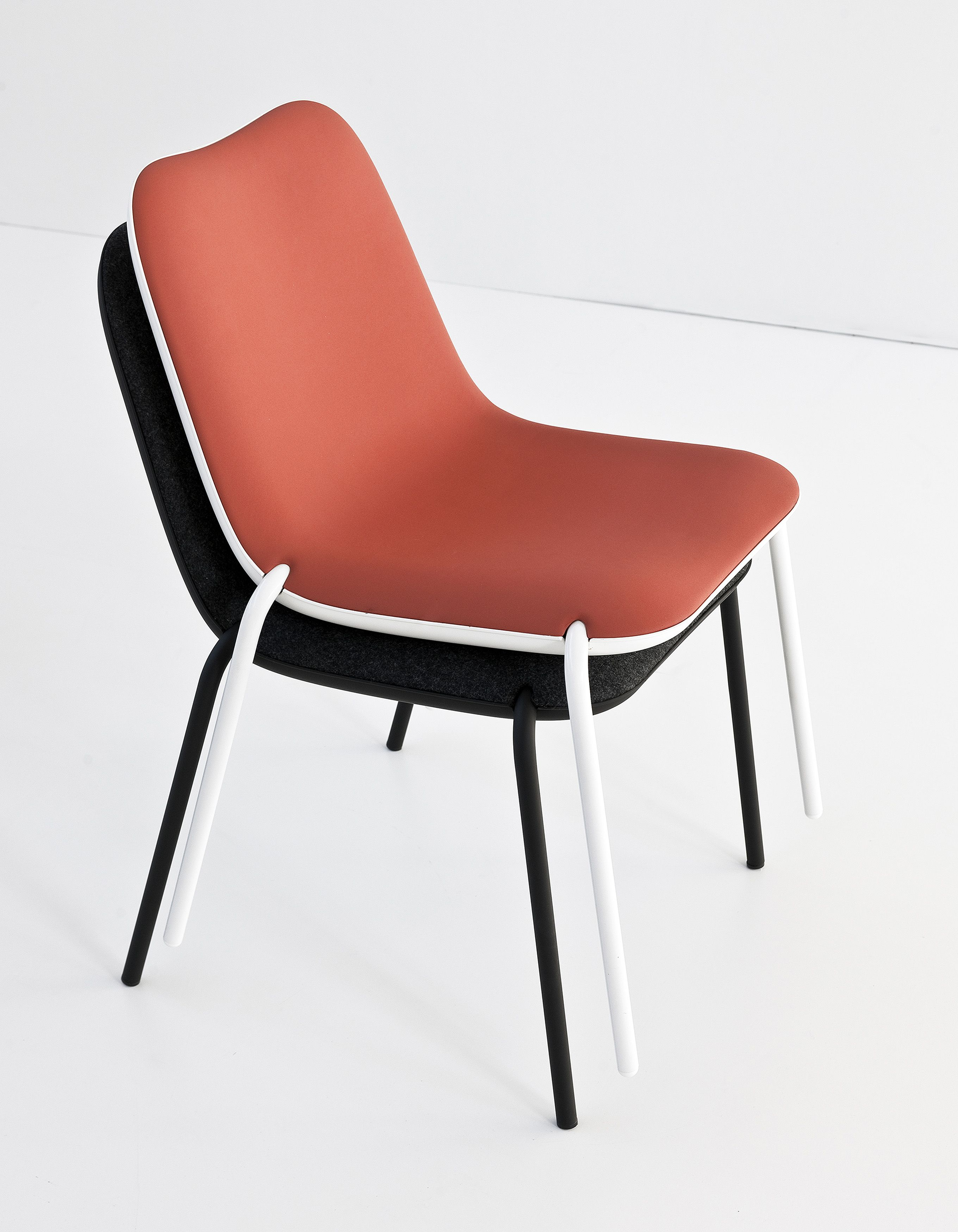 New versions of Boum, the chair that has recently turned 10 years old. To…