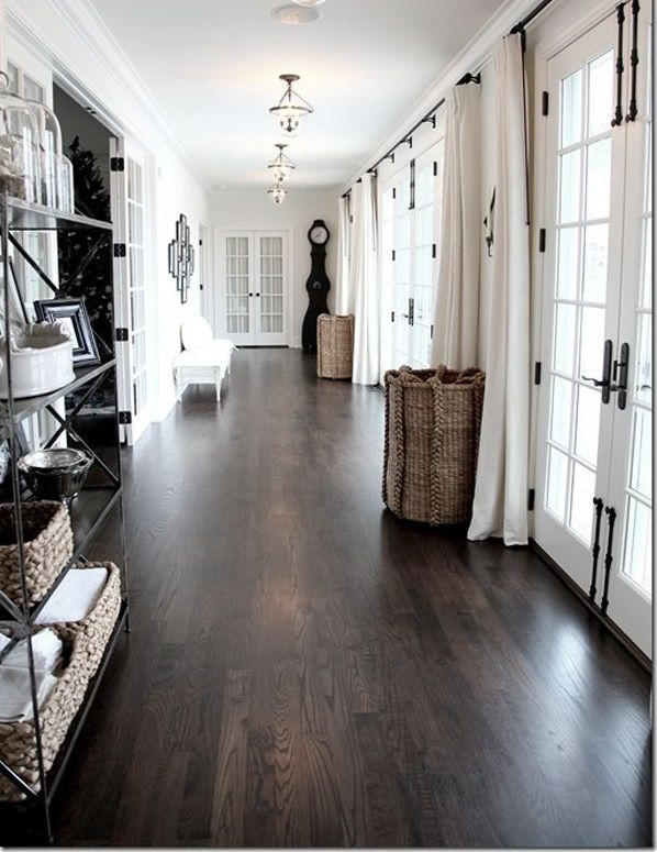 Dark Wood Indoor Pvc Vinyl Flooring Plank Home Hardwood Floors