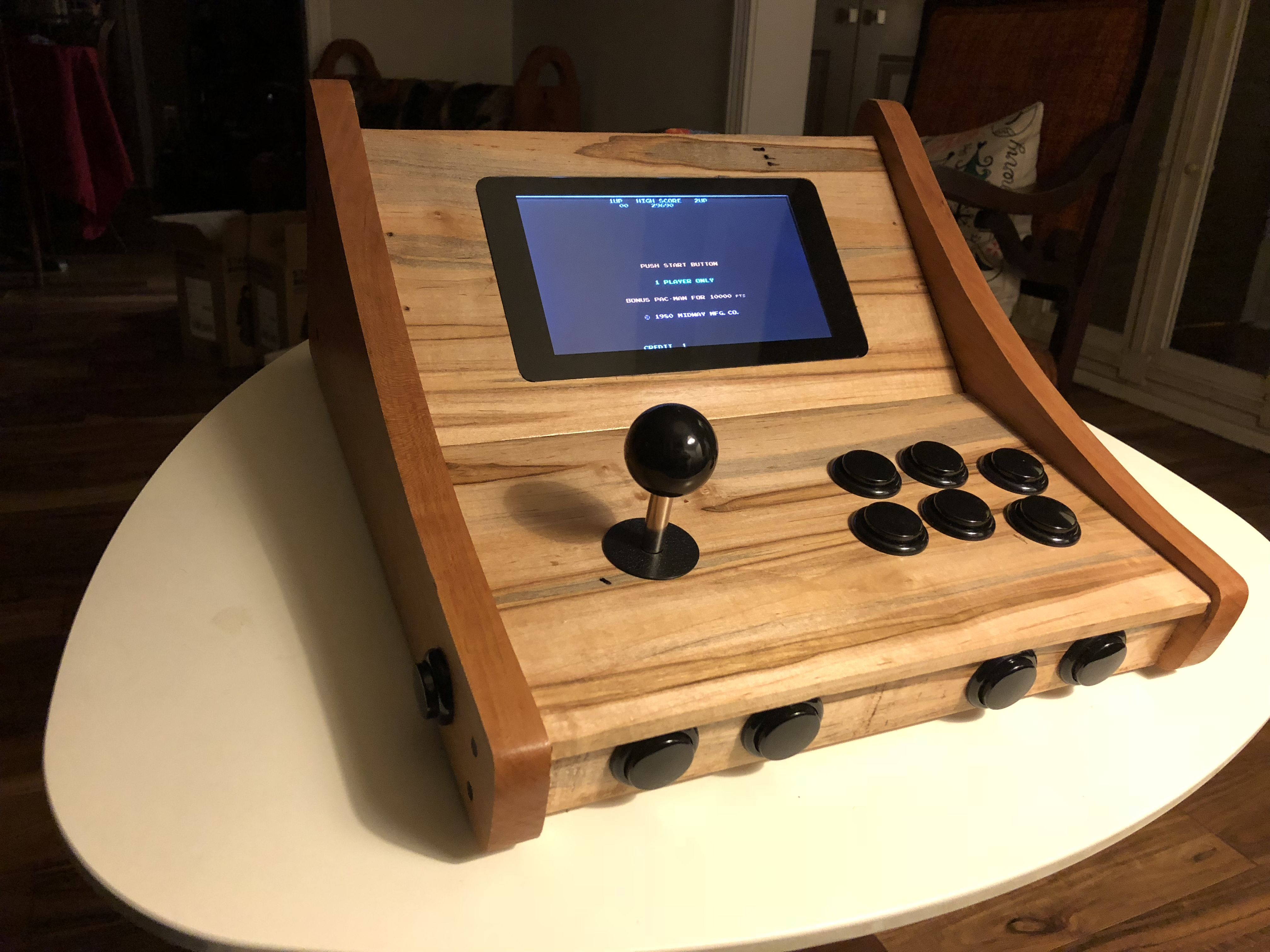 A RetroPie Console | Fight Stick | Retropie arcade, Mini