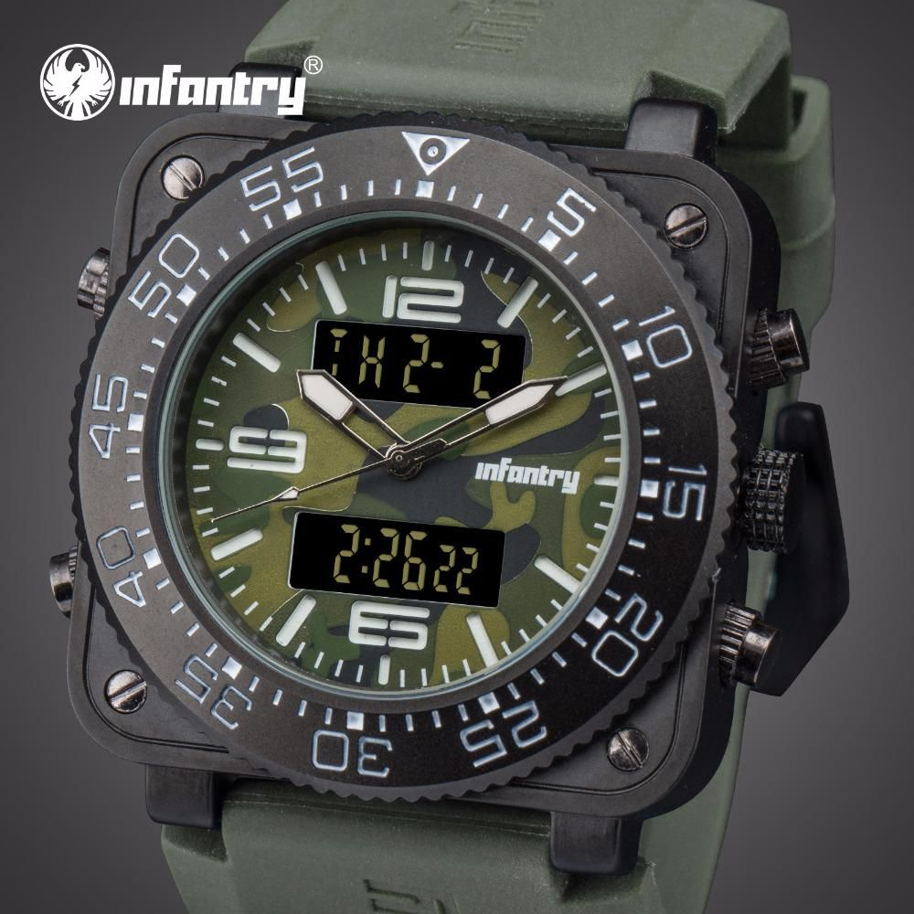 Infantry Mens Watches Top Brand Luxury Analog Digital Military Watch Men Watches For Men Tactical Field S Mens Watch Brands Stylish Watches Men Watches For Men