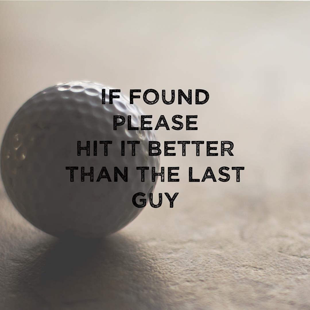 Famous last words... ⛳️ golfball golfballs